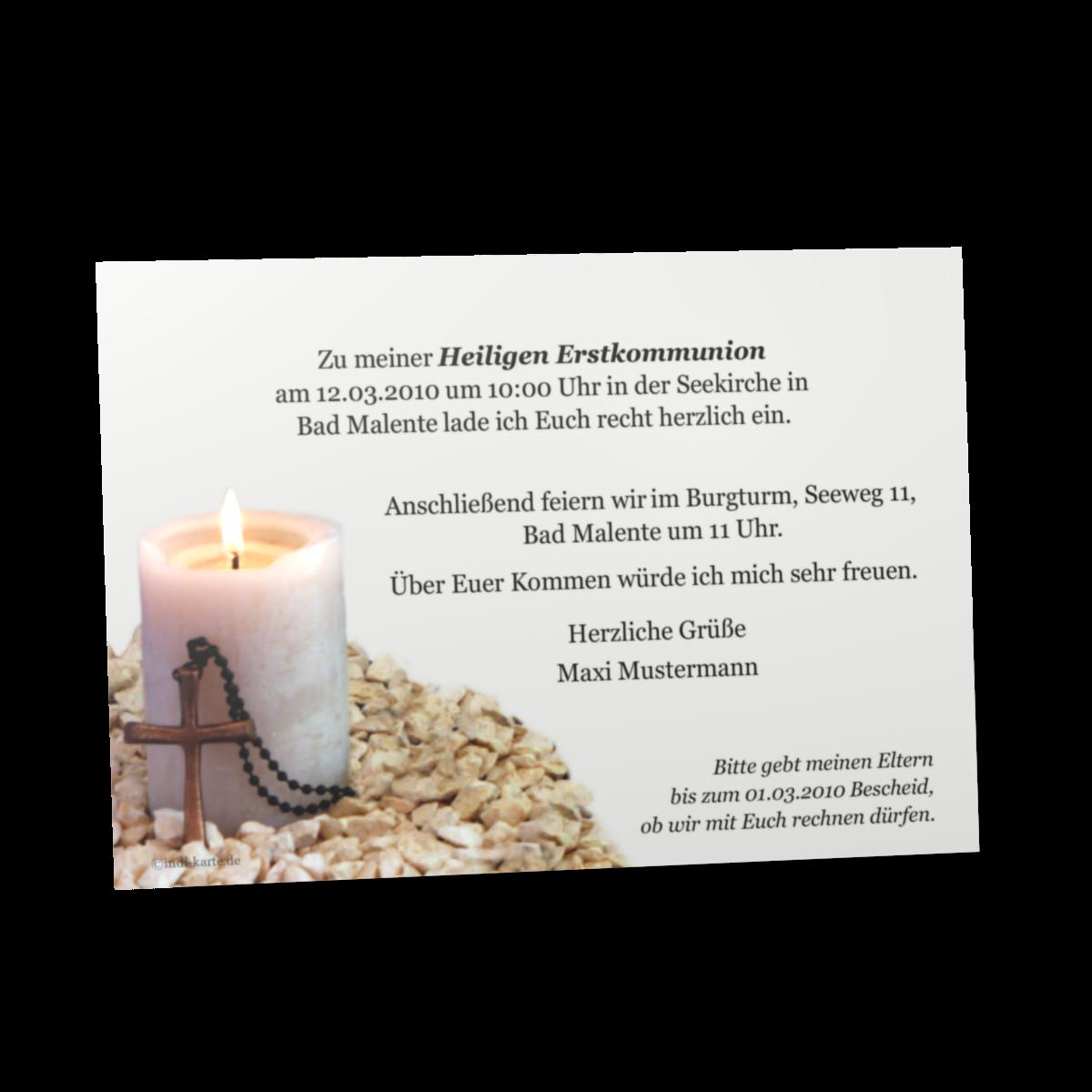 Einladung Kommunion Textvorlagen – cloudhash.info